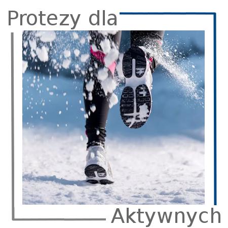 proteza nogi, kończyn dolnych dla aktywnych