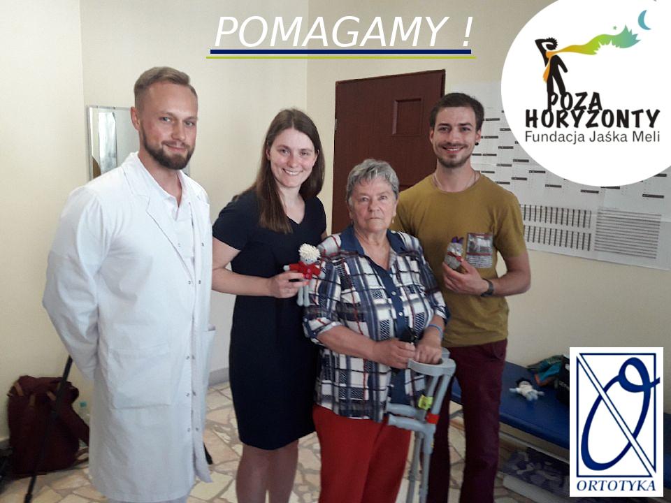 Proteza zrefundowana z pomocą Fundacji Jaśka Meli - POZA HORYZONTY